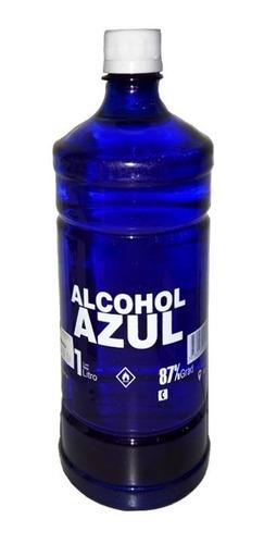 Alcohol Azul 1 Litro