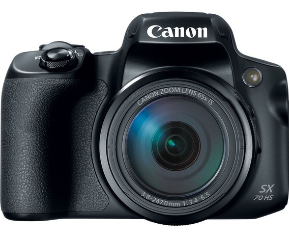 Câmera Canon Powershot Sx70hs Sx70 4k +32gb+bolsa+tripé Sj