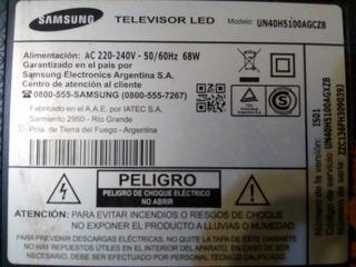 Tv Samsung Un40h5100agczb, Para Repuestos.