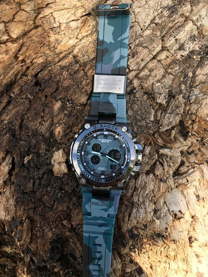 Relógios Gshock Aço Camuflado