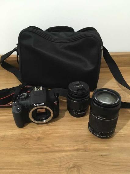 Canon T5 Com 2 Lentes