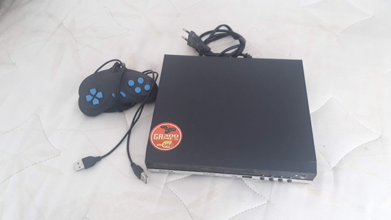 Dvd Amvox Video Amd-910 Usb Com Jogos Joystick E Visor