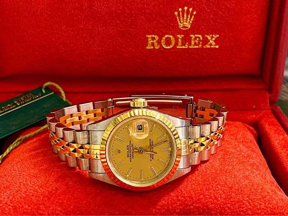Rolex Datejust Lady Aço E Ouro , Jubileu E Completíssimo!!!