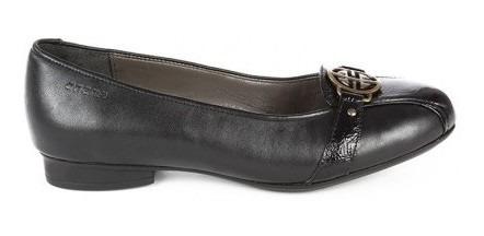 Zapato Onena Mujer Piel Negro 9511