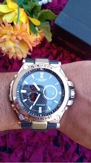 Relógio Casio Gshock Caixa De Ferro