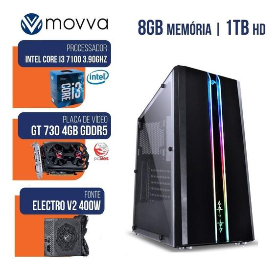 Computador Gamer Completo Mvx3 Intel I3 7100 3.9ghz Barato