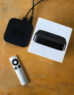 Apple Tv - 3ra Generacion- Impecable En Caja C/ Accesorios