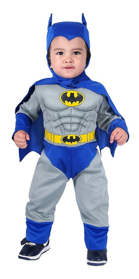 Disfraz De Batman Bebe C/musculos Carnavalito -d629