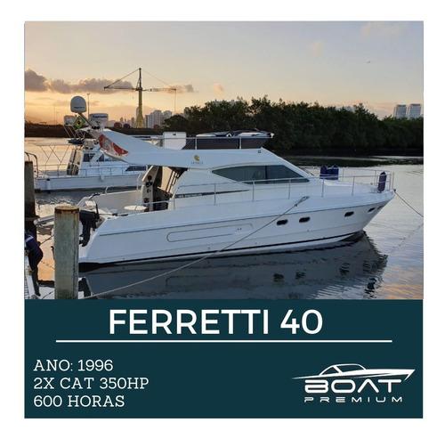 Ferretti 40, 1996  2x Cat 350hp