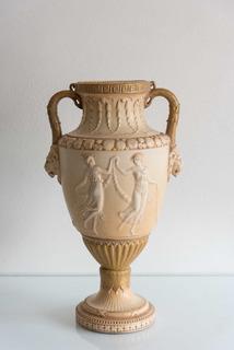 Florero De Porcelana Austriaca Royal Vienna Wahliss