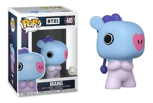 Funko Pop! Mang J-hope Bts Bt21 Con Holograma