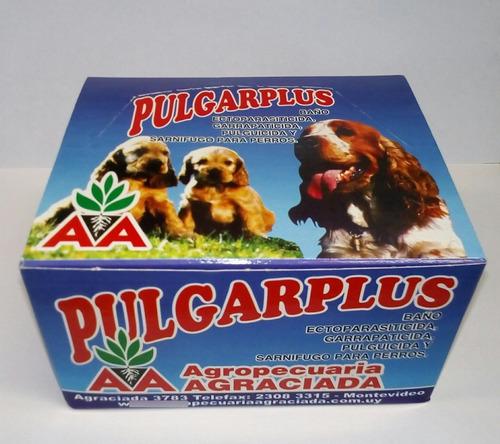 Pulgarplus Baño Garrapatas, Pulgas Y Sarna X 12 X 30 Ml C/u