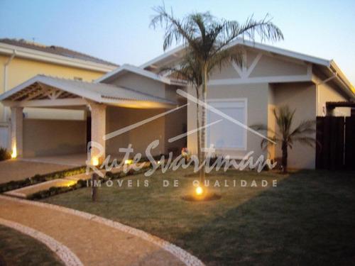 Casa Com 3 Dormitórios À Venda, 240 M² Por R$ 1.350.000,00 - Condomínio Residencial Manacás - Paulínia/sp - Ca3298
