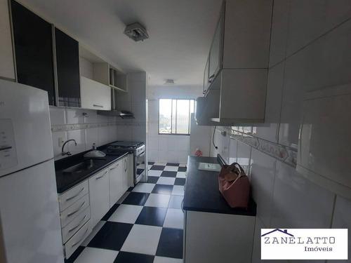 Imagem 1 de 15 de Excelente Apartamento 02 Dorm - C/ Sacada - Vila Das Belezas- Mobiliado - V0428