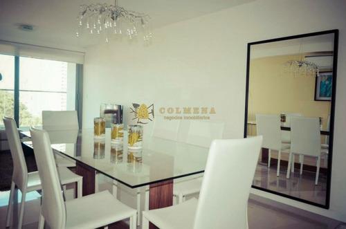 Venta Y Alquiler Anual O Invernal De Apartamento En Playa Brava, Punta Del Este- Ref: 2708