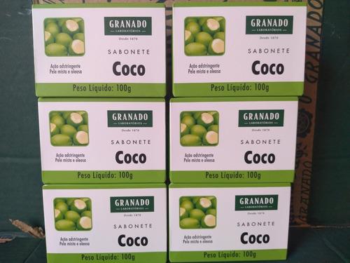 Sabonete Granado Coco 6 X 100 Gramas