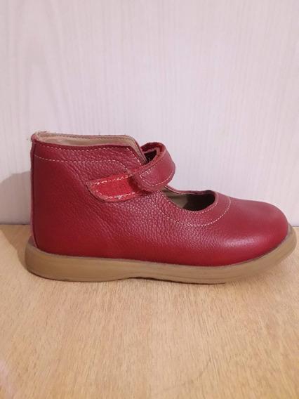 Zapatos Botitas Grisino De Cuero Nº27