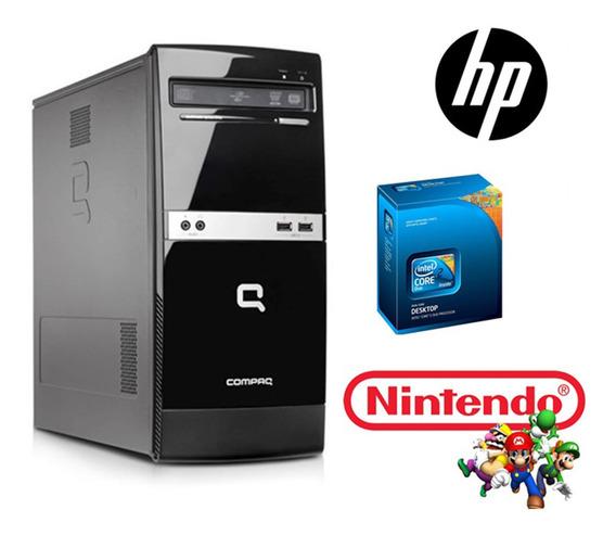 Pc Desktop Hp Compaq 300b Core 2 Duo 4gb Ddr3 250gb Seminovo