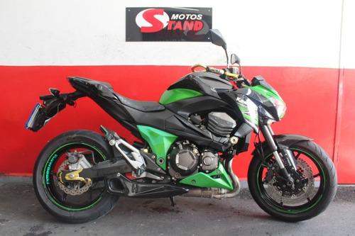 Imagem 1 de 11 de Kawasaki Z 800 Z800 Z-800 Abs 2013 Verde