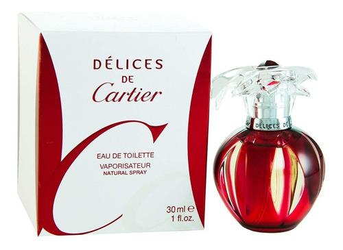 Perfume Delices De Cartier 100 Ml Orig - mL a $1590