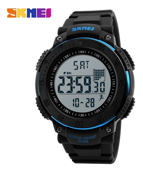 Reloj Hombre Digital Skmei 1238 Podómetro, Deportivo
