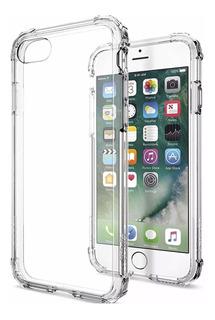 Case Anti Impacto iPhone 5s Transparente + Película De Vidro