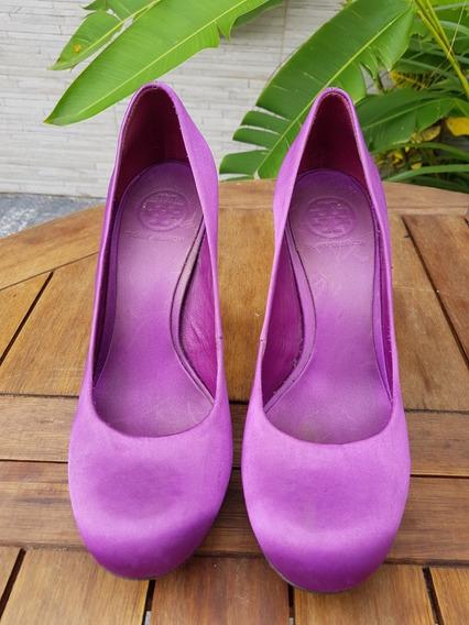 High Heels Violet | Exclusivo & Original Tory Burch