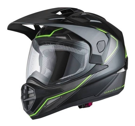 Capacete X11 Crossover X2 N Preto Neon Moto Original