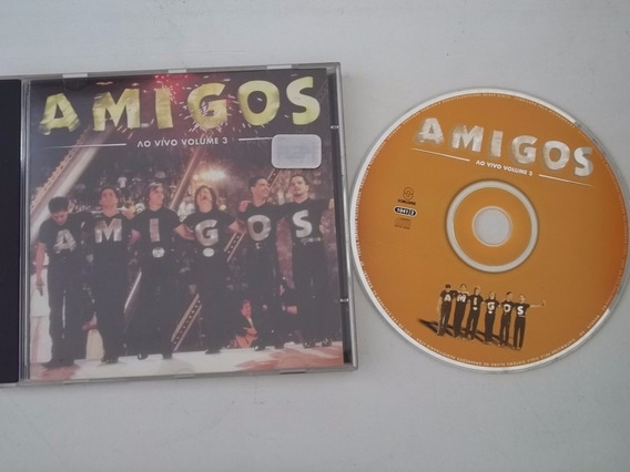 Cd . Amigos - Ao Vivo - Volume 3 - Sertanejo