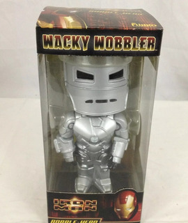 Funko Wacky Wobbler Iron Man Mark 1 Nuevo