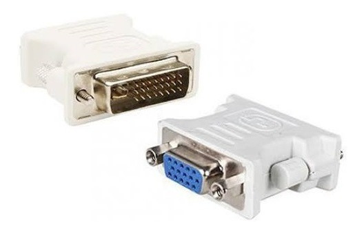 Adaptador Dvi I(24+5)macho/ Db15 Hd Vga Femea
