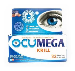 Ocumega Krill- Mejora Superficie Ocular- 32 Capsulas