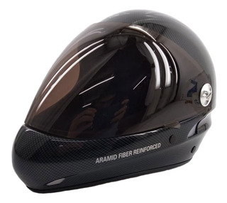Casco Charly No Limit Carbon Parapente Optic Visera Eezap