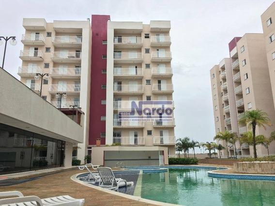 Apartamento Para Alugar Em Bragança Paulista, Condomínio Viña De San Lorenzo - Ap0165