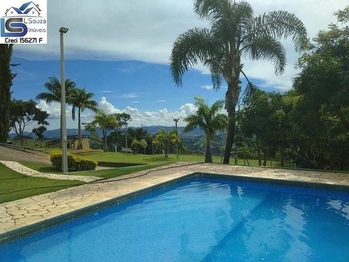 Chacara De 48.000m2 Com 2 Casas, 2 Piscinas E Mina Dagua