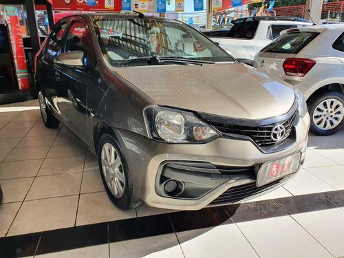 Imagem 1 de 9 de Toyota Etios Sedan X 1.5 Flex Aut