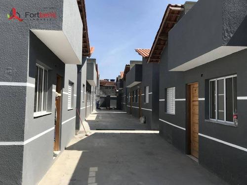 Casa Com 2 Dormitórios À Venda, 45 M² Por R$ 163.000 - Estância Lago Azul - Franco Da Rocha/sp - Ca0719