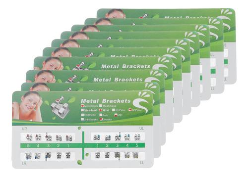 Imagen 1 de 5 de 10packs Dental Ortodoncia Metal Bracke - mL a $1692