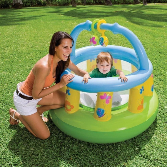 Corralito Didáctico Bebe My Firts Gym Inflable Intex (48474)