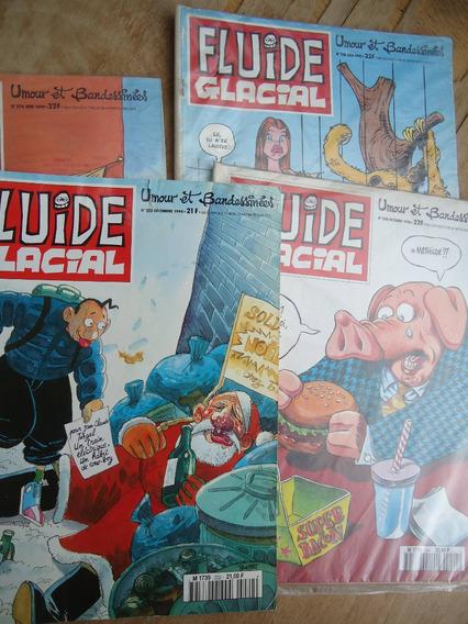 30 Revistas De Humor Em Francês Fluide Glacial - Hq