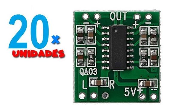 20 X Mini Amplificador Digital 2x3w 5v Pam 8403