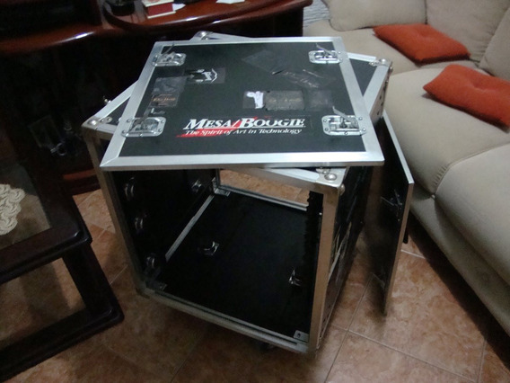 Mesa/boogie Sus-4 ® 12-space Shock Mount Rack Case Roadready