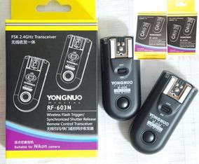 Radio Flash Wireless Yongnuo Rf-603n Ii Nikon D5000d7000
