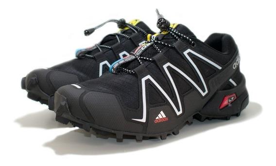 Tênis Speedcross 3 4 Trava Masculino Escalada Trilha Corrida