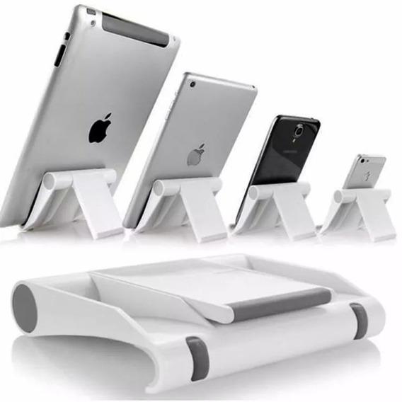 Suporte De Mesa Universal Celular Tablet Vexstand - Branco
