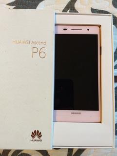 Huawei P6 Rosa Usado Liberado