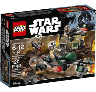 Lego Star Wars 75164 Rebel Trooper Battle Pack + Envio!