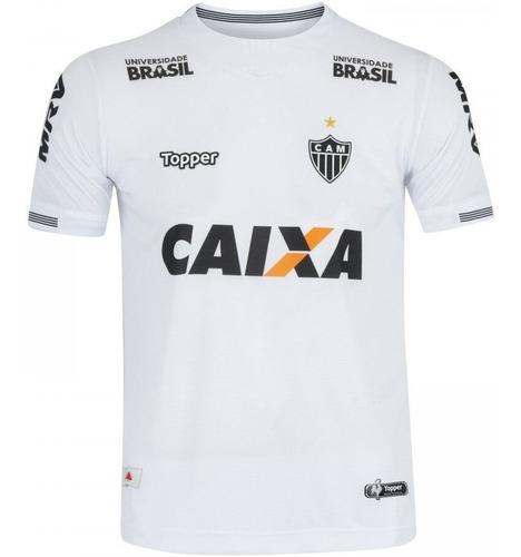 Camisa Atlético Mineiro Topper Uniforme 2 Branco 2018
