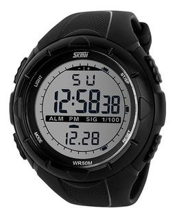 Reloj Skmei 1025 Deportivo Digital Sumergible Fecha Alarma