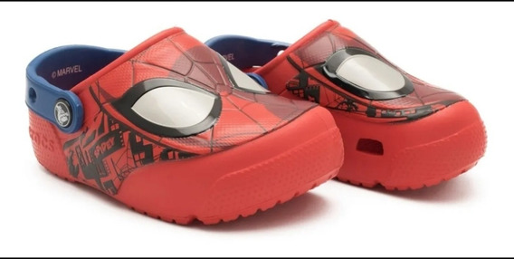 Crocs Fun Lab Lights Clog Spiderman / Ironman - Originales